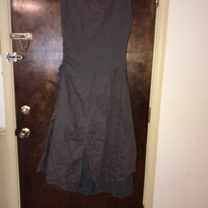 Matilda Jane Dresses - Matilda Jane asymmetrical cargo linen dress large